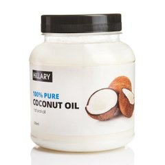 Рафінована кокосова олія Premium Quality Coconut Oil Hillary 500 мл