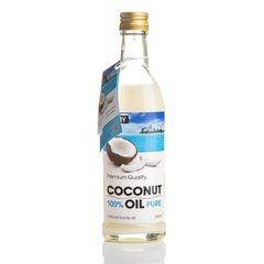 Рафінована кокосова олія Premium Quality Coconut Oil Hillary 250 мл