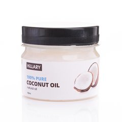 Рафінована кокосова олія Pure Coconut Oil Hillary 100 мл